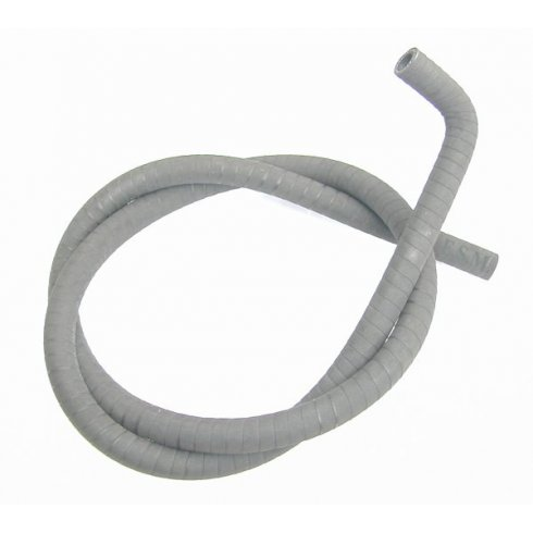 """Heater Hose 1/2"""" I.D. x 7/8"""" O.D. Moulded End 36"""" Long SILICONE ***ANTIQUE WRAP FINISH***"""