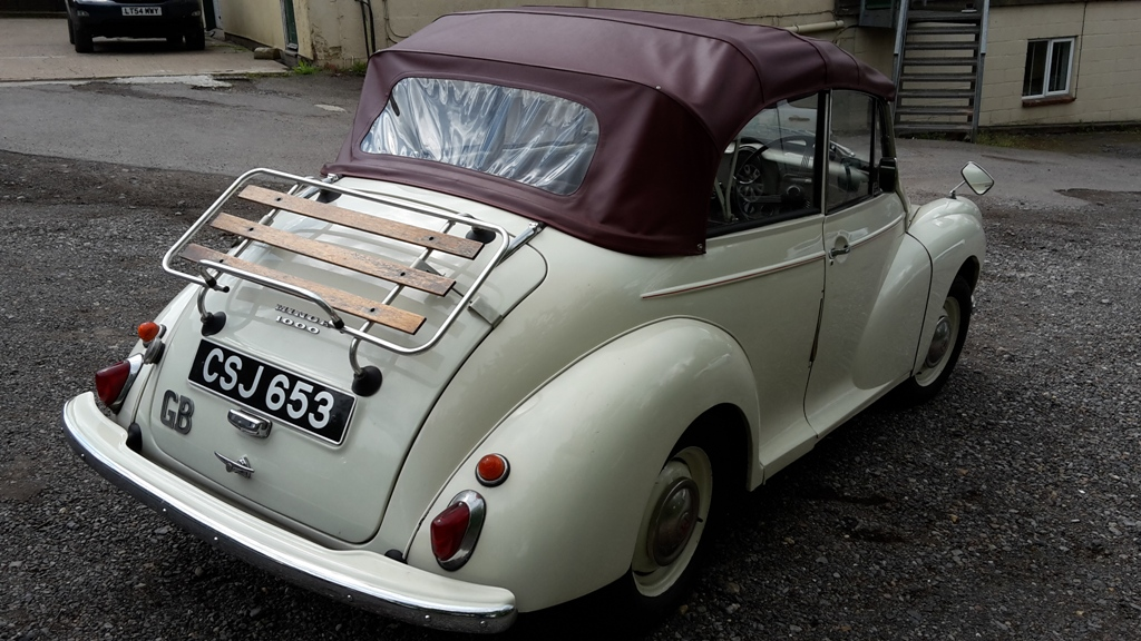1960 Old English White Convertible