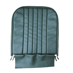 56-59 Front Seat Squab Cover Folding Back Leather Green