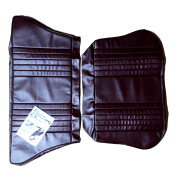 56-59 Rear Seat Cover 2DR Saloon Complete Set Leather Maroon
