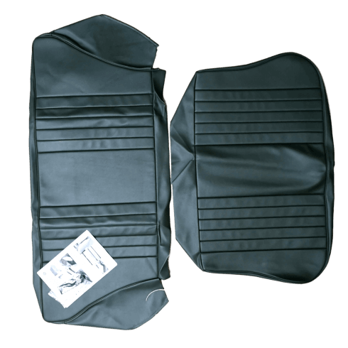 56-59 Rear Seat Cover 2DR Saloon Complete Set Leather Sage Green