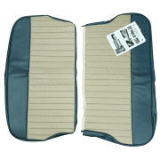 62-64 Duotone Rear Seat Cover 4DR Saloon Vinyl Blue/Grey