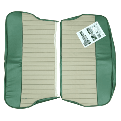 62-64 Duotone Rear Seat Cover 4DR Saloon Vinyl Green