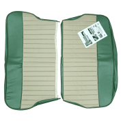 62-64 Duotone Rear Seat Cover 4DR Saloon Vinyl Porcelain Green