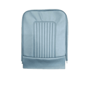 64-71 Late Front Seat Base Cover Vinyl Blue