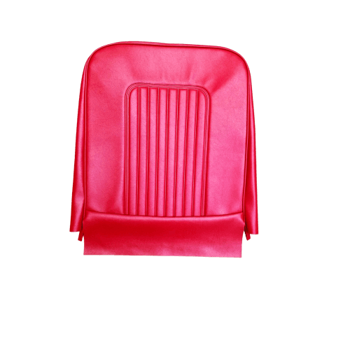 64-71 Late Front Seat Base Cover Vinyl Red