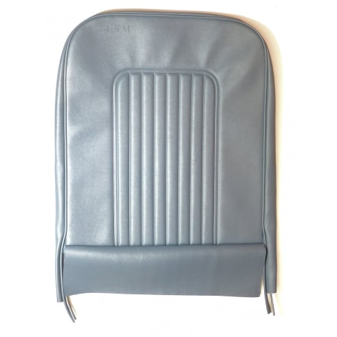 64-71 Late Front Seat Squab Cover Vinyl Blue