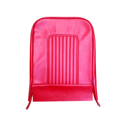 64-71 Late Front Seat Squab Cover Vinyl Red