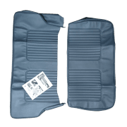 64-71 Late Rear Seat Cover 2DR Saloon Vinyl Blue