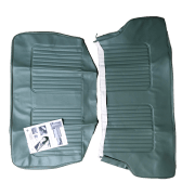 64-71 Late Rear Seat Cover 2DR Saloon Vinyl Green