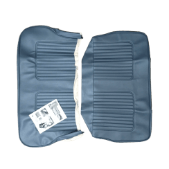 64-71 Late Rear Seat Cover 4DR Saloon Vinyl Blue