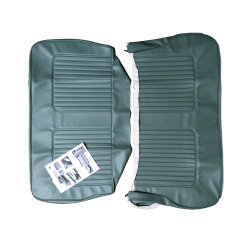 64-71 Late Rear Seat Cover 4DR Saloon Vinyl Green