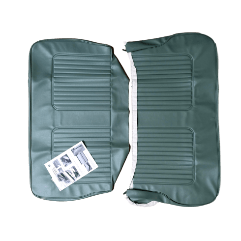 64-71 Late Rear Seat Cover 4DR Saloon Vinyl Porcelain Green