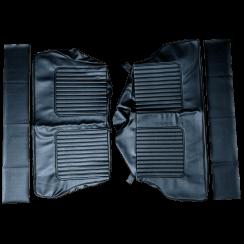 64-71 Late Rear Seat Cover Traveller Vinyl Black