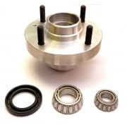 Alloy Hub Assembly with Bearings & Seal - FORD Disc Brakes (Each)
