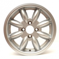 "Alloy Road Wheel (5.5"" x14"") Minator (Minilite Copy) (4"" PCD) SILVER *Not suitable for MM or Series II*"