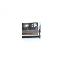 Badge Bar Clip - DESMO - Chrome on Brass (Each) U.K. Made