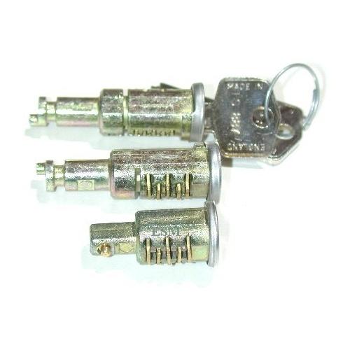 Barrel & Keys-Matched Lock Set (Traveller) Pre.1964