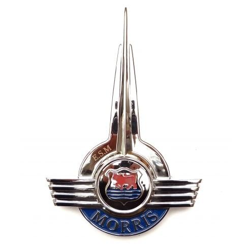 Bonnet Front Badge-Chrome (Bull Badge)