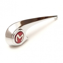 "Bonnet Lift Handle (""M"" Flash) Early Type With Enamel Badge"