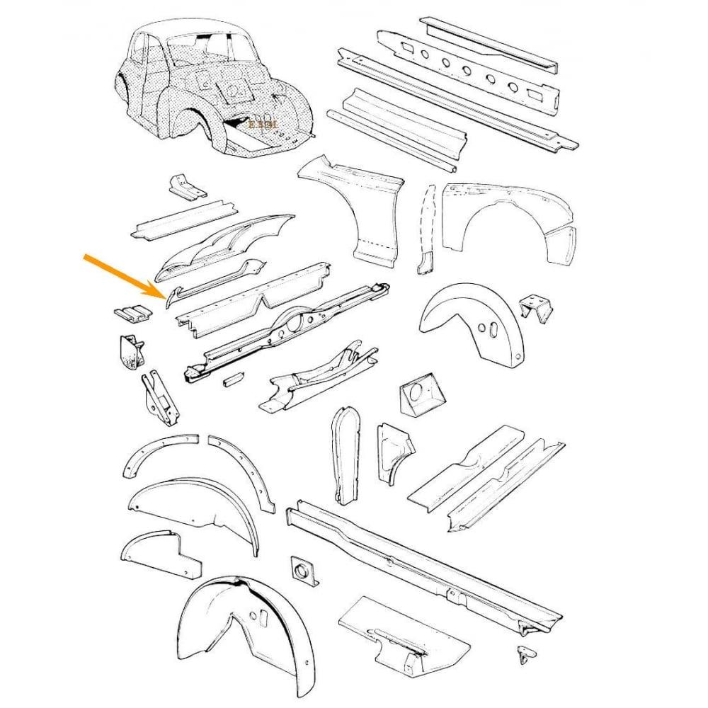 Morris Minor Heater Wiring Diagram Boot Aperture Panel Saloon Convertible Lmc Hadrian