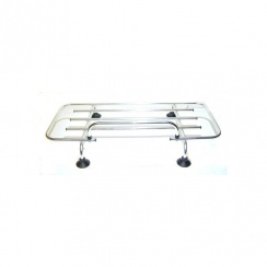 Boot Lid Rack-Polished Aluminium - Not Specifically Designed for Morris Minors
