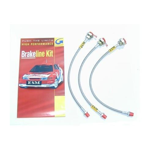 Braided Goodridge Brake Hose Kit (Van/Pick-Up)