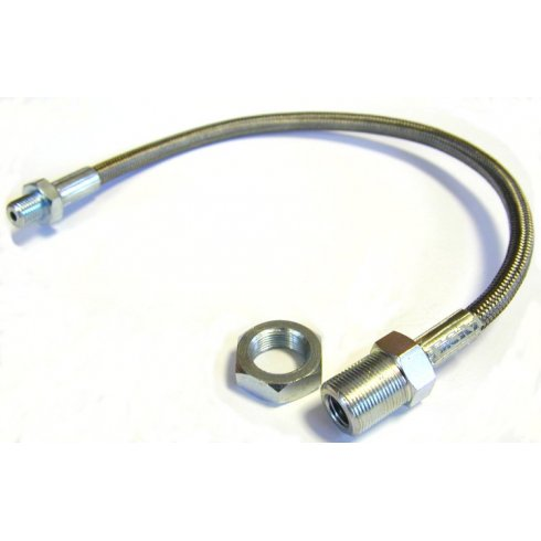 Copper Brake Pipe Fitting Pipe Unions and Clamp Set For Morris Minor