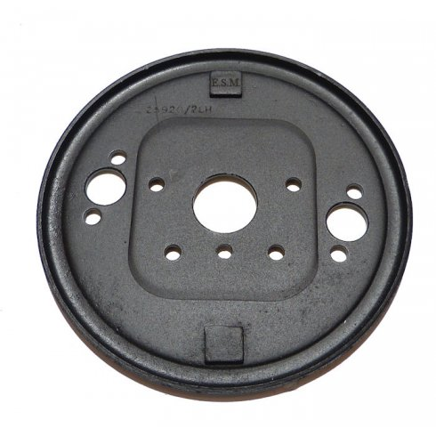"Brake Back Plate - RECONDITIONED (MM & SERIES II 7"" Front L/H)"