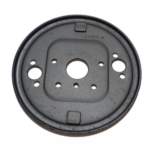 "Brake Back Plate - RECONDITIONED (MM & SERIES II 7"" Front R/H)"