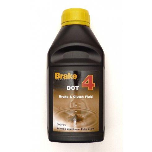 Brake Fluid 500ml (DOT 4) *UK Mainland Shipping Only*