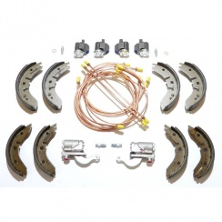 "Brake Overhaul Kit (8"" Front Drums) L/H/D - GENUINE CYLINDERS & MINTEX SHOES *Van & Pick-Up*"