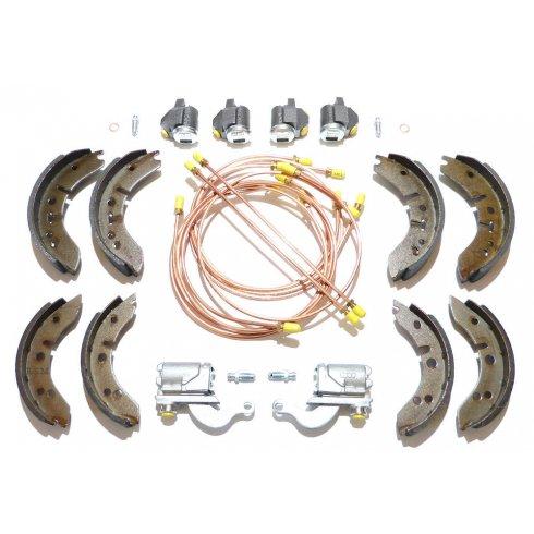 "Brake Overhaul Kit (8"" Front Drums) L/H/D - PATTERN CYLINDERS *NOT Van or Pick-Up*"