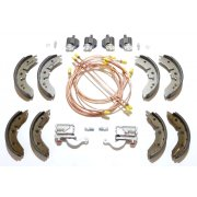 "Brake Overhaul Kit (8"" Front Drums) R/H/D - GENUINE CYLINDERS & MINTEX SHOES *NOT Van or Pick-Up*"