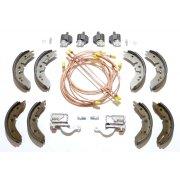 "Brake Overhaul Kit (8"" Front Drums) R/H/D - GENUINE CYLINDERS & MINTEX SHOES *NOT Van or Pick-Up*"