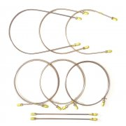 Brake Pipe Set - AUTOMEC (Copper-Nickel / Brass Unions) Van & Pick-Up R/H/D *NOT MM & Series II*