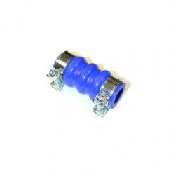 By-Pass Hose - BLUE SILICONE (With Clips)