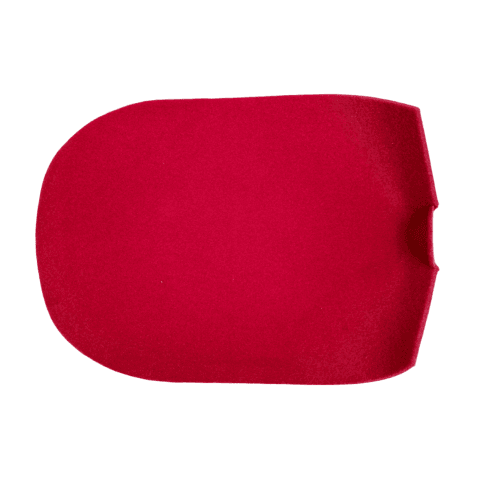 Carpet - Gearbox Tunnel Section (For FORD 5-Speed Conversion Only) *RED*