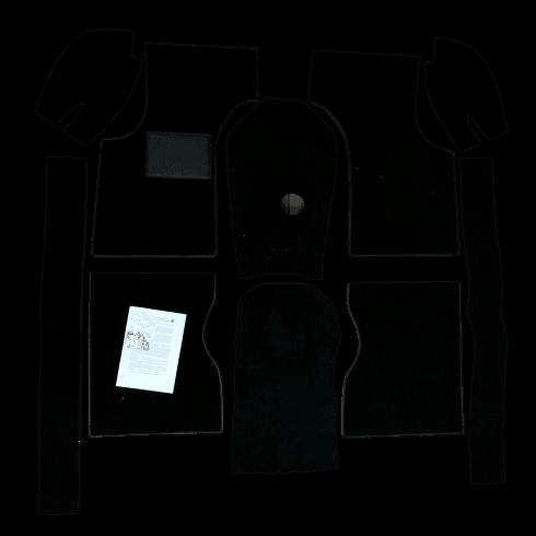 Carpet Set-Van/Pick-Up (BLACK) Newton Commercial L/H/D