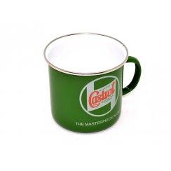 Castrol Enamelled Tin Mug