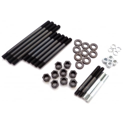 Cylinder Head Fixing Kit - O.H.V. Models (Studs, Nuts & Washers)