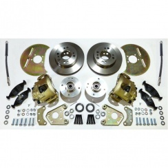 Disc Brake Conversion Kit (FORD BASED) Complete *** WITH ALLOY HUBS ***