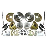 Disc Brake Conversion Kit (FORD BASED) Complete *** WITH STEEL HUBS *** MINOR 4 STUD PCD