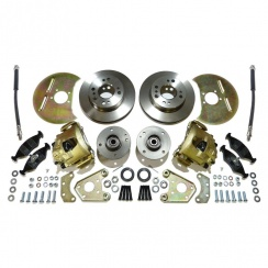 Disc Brake Conversion Kit (FORD BASED) Complete *** WITH STEEL HUBS ***