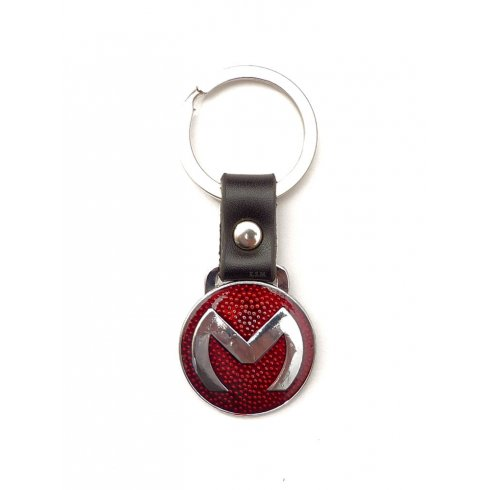 """Dog Tag """"M"""" (Leather)"""