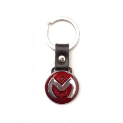 "Dog Tag ""M"" (Leather)"