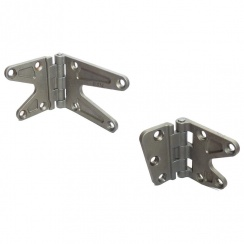 Door Hinge Pair R/H Front Upper and Lower NEW