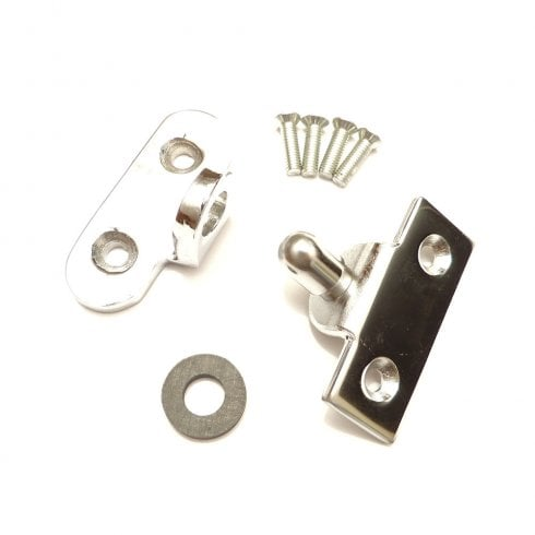 Door Locating Plate & Socket Kit (With Rubber Buffer & Fixing Screws)