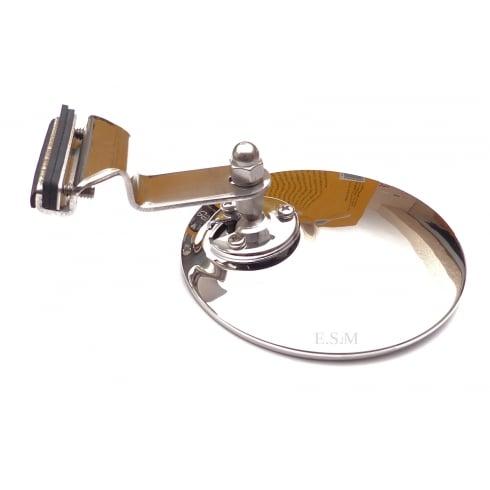 Door Mirror Clip-On Round (No Drilling To Fix)