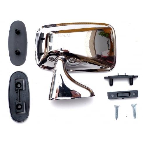 Door Mirror-Universal L/H (Requires Drilling To Fix) TEX